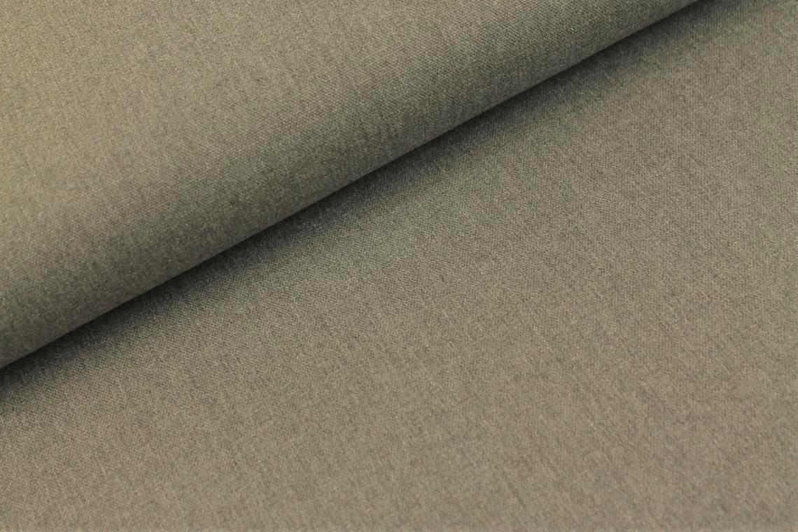 Canvas uni grau meliert