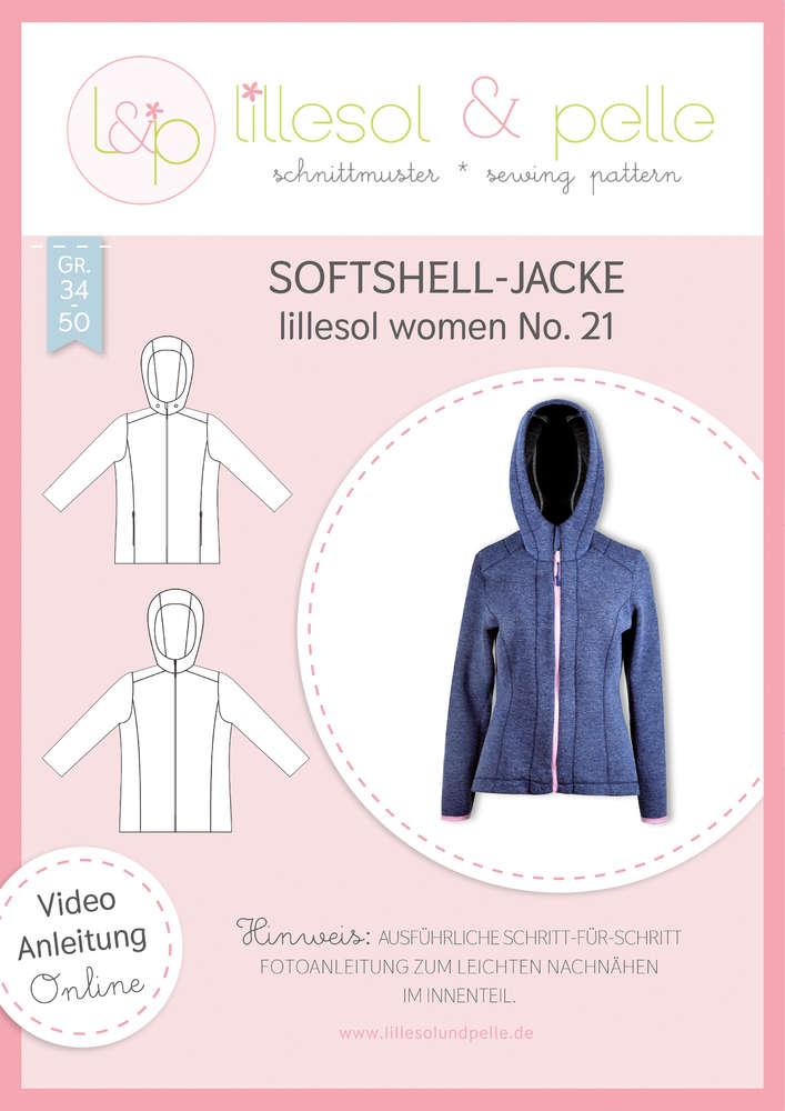 Papierschnittmuster Softshelljacke lillesol women No.21 von Lillesol&Pelle