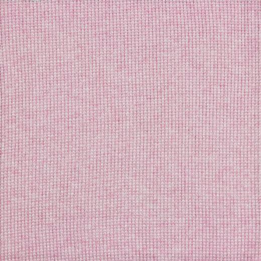 Viskosestrick mit silber Lurexfäden - rosa
