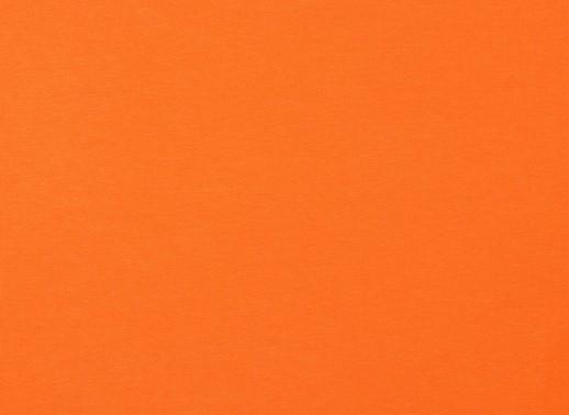 Organic Cotton Baumwolljersey uni orange (024)