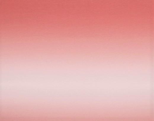 Sommersweat mit Farbverlauf - salmon