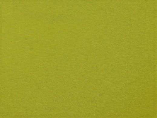 Organic Cotton Baumwolljersey uni lime (030)