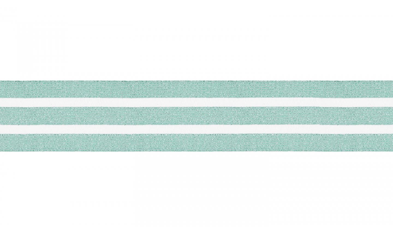 Waistband 50mm mit Glitzer dusty green (522)