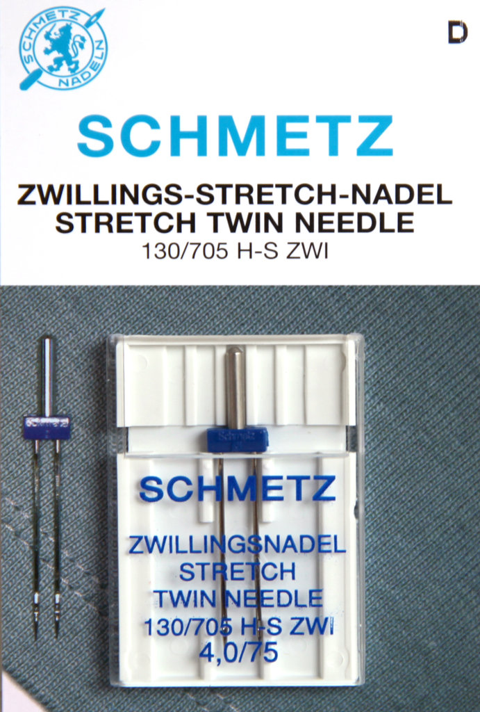 Schmetz Zwillingsnadel Stretch 4,0/75