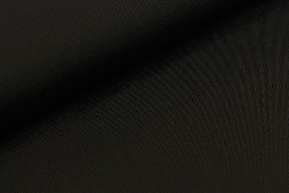 Canvas uni in schwarz
