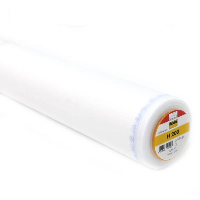 Vlieseline Bügeleinlage H200 weiß