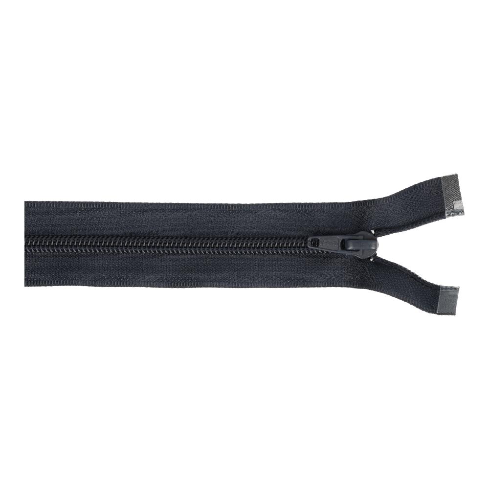 Reissverschluss teilbar Nylon navy 60cm (561)