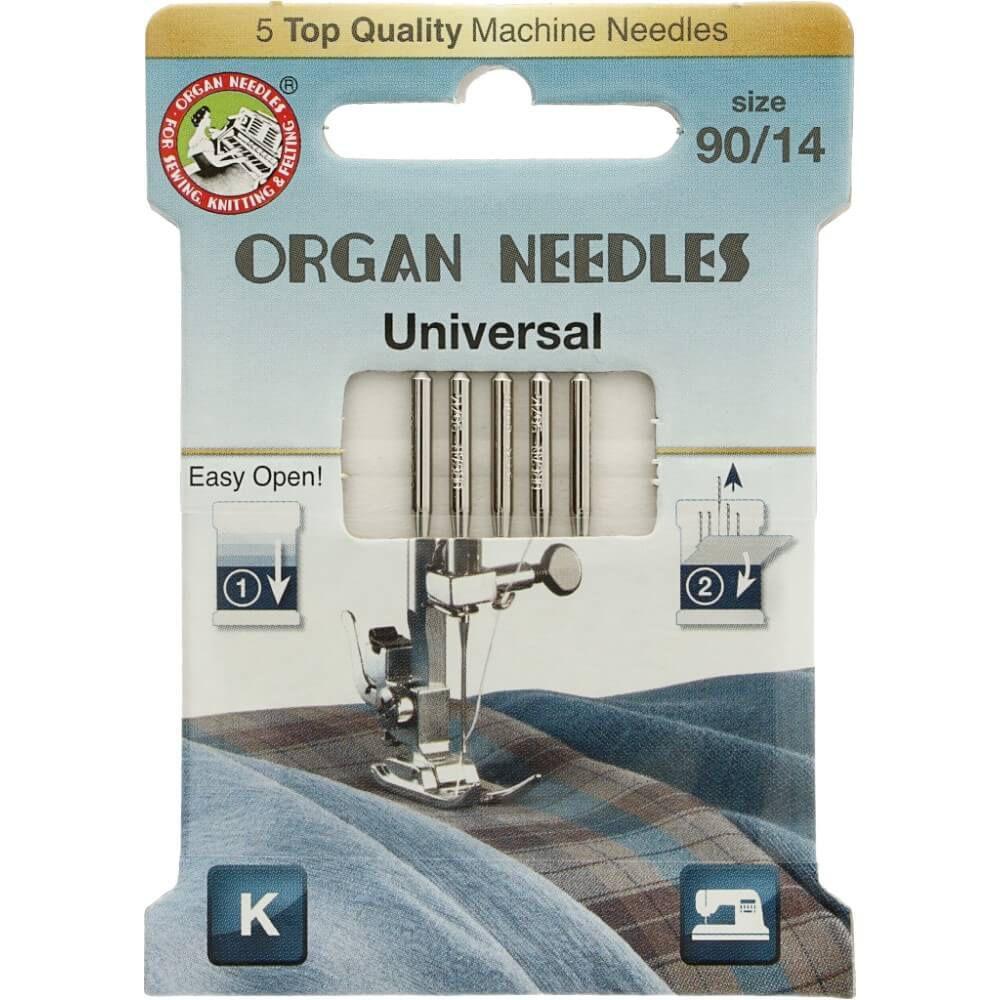 Organ Needles Universal Nähmaschinennadeln 90/14