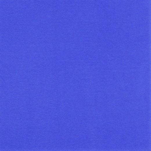 Organic Cotton Bündchenstoff uni kobalt (209)