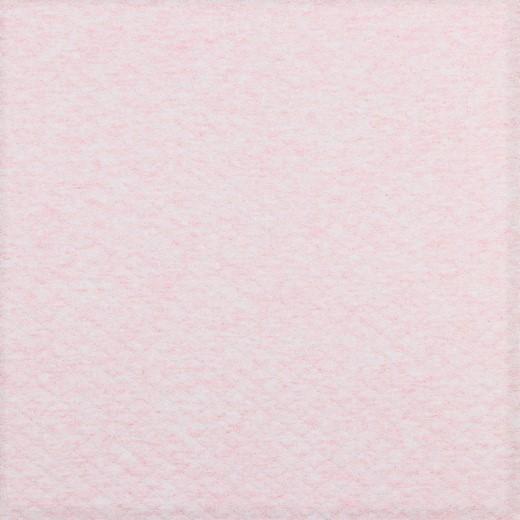 Steppsweat uni rosa melange