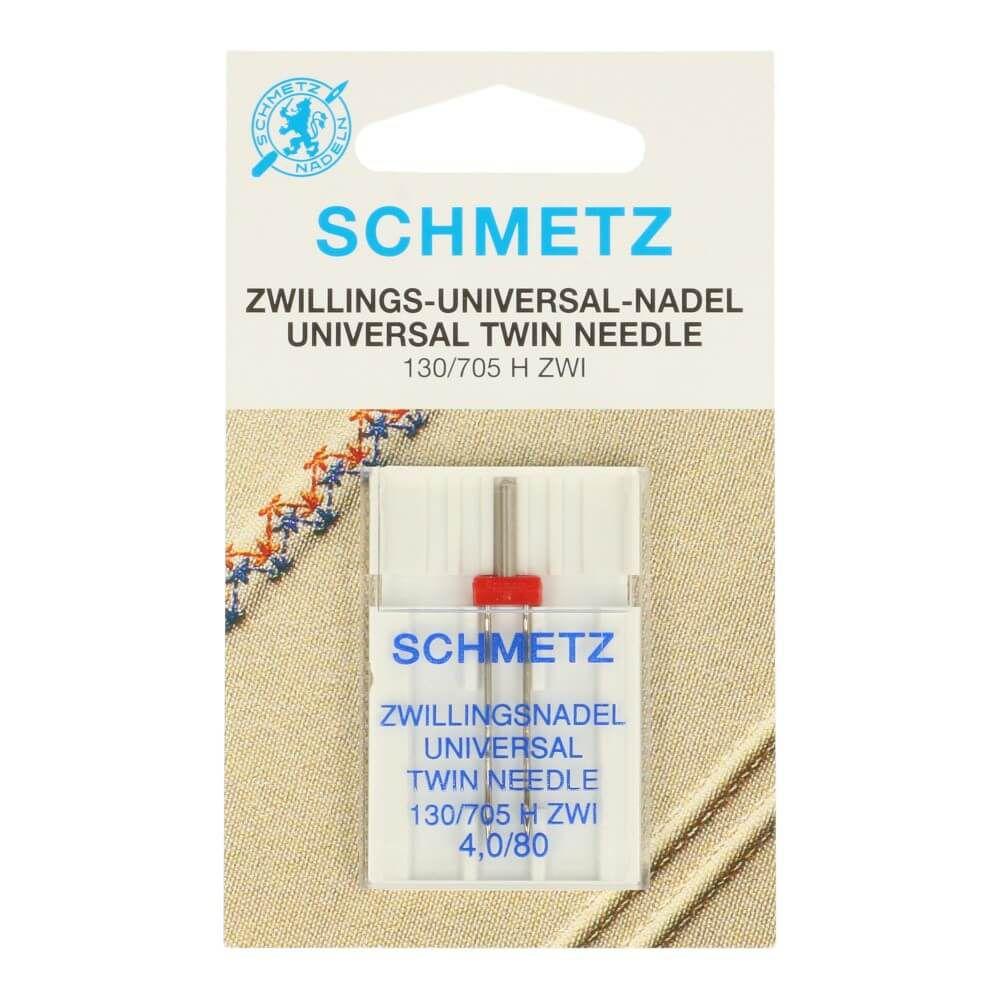 Schmetz Zwillingsnadel Universal 4,0/80
