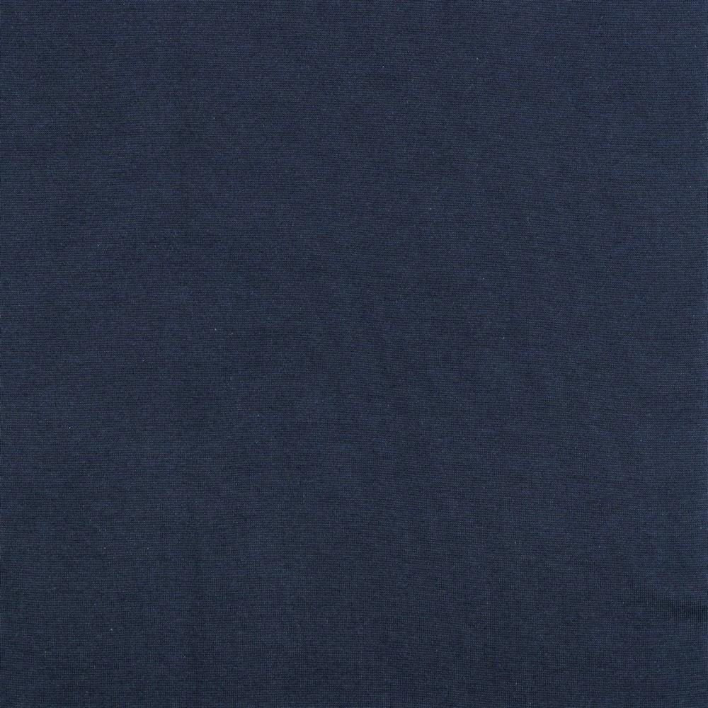 Organic Cotton Bündchenstoff uni navy (019)