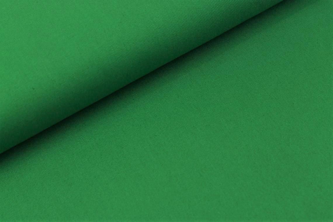 Canvas uni in grün