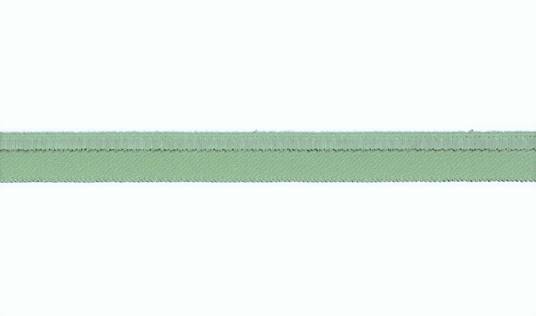 Paspelband elastisch uni dusty mint 10mm