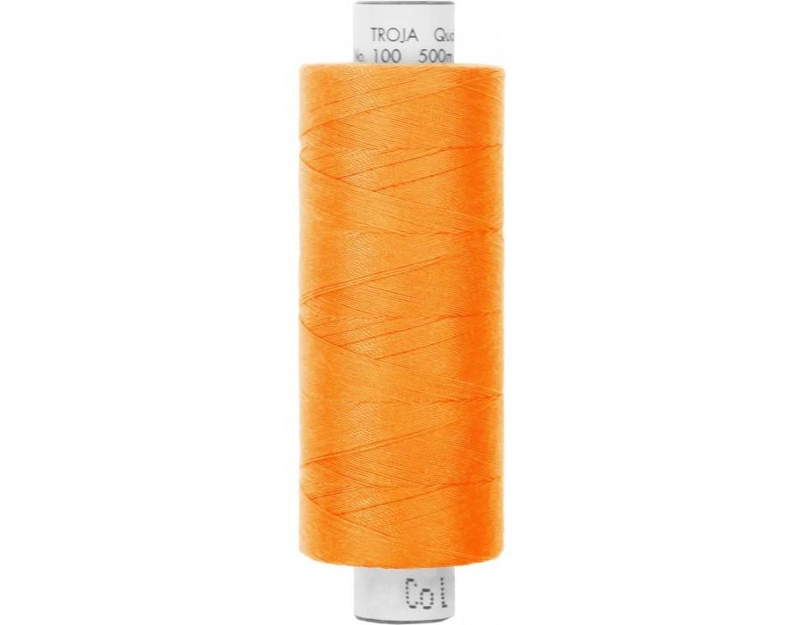 Amann Troja 100  Garn 500m - orange (0122)