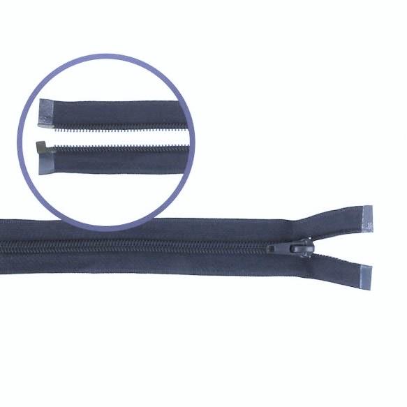 Reissverschluss teilbar Nylon navy 55cm