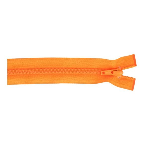 Reissverschluss teilbar Nylon orange, 25cm